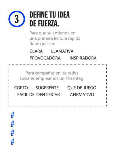 Kit decide 3: Define tu idea de fuerza