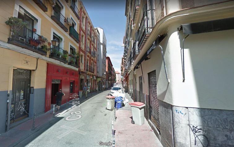 Urbanizacion De La Calle De La Palma Entre San Bernardo Y