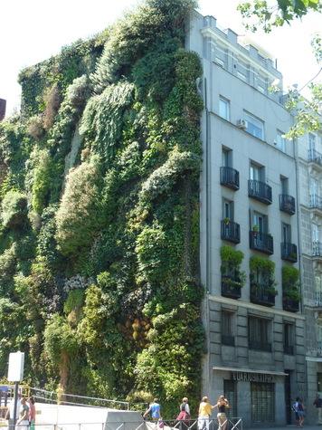 Programa de subvenciones a edificios que instalen jardines for Edificios con jardines verticales