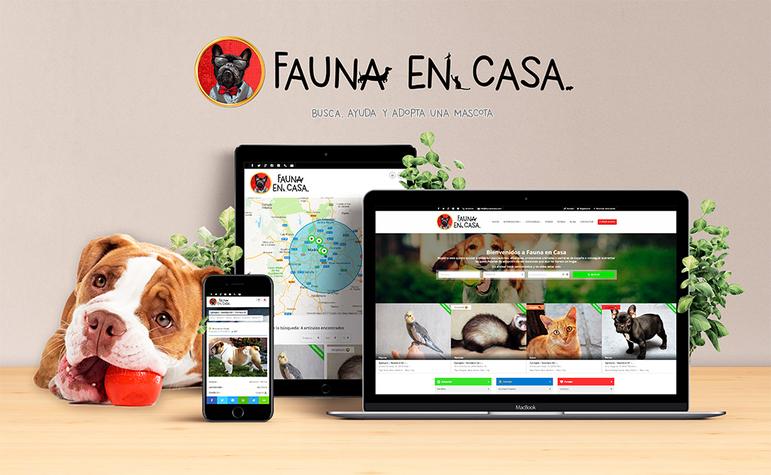 Plataforma Web Para La Difusión De Mascotas En Adopción En Madrid Y Toda España