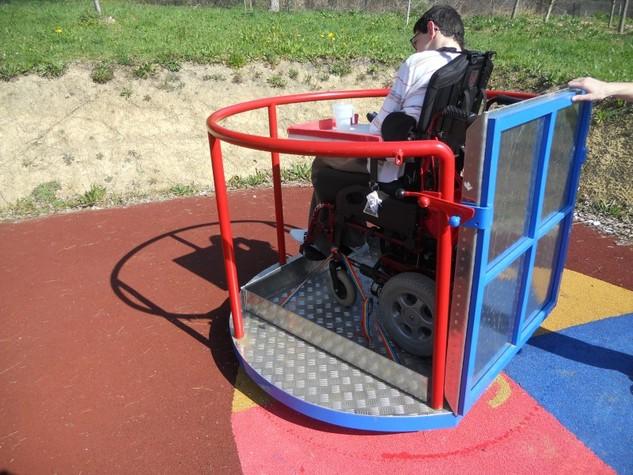 Columpios Para Ninos Con Diferentes Discapacidades