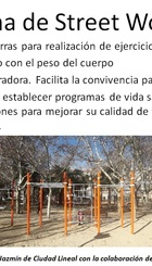 Street Workout en Parque de la Cornisa