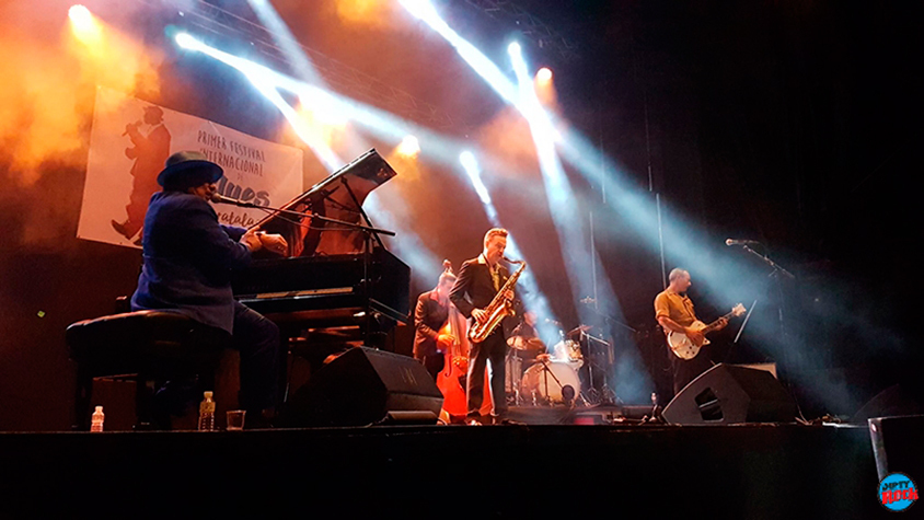Mitch Woods en el Festival de Blues Moratalaz