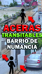 Aceras intransitables