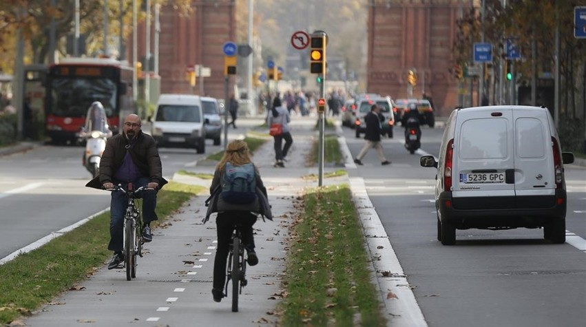 Carril Bici Segregado de Norte a Sur de Madrid